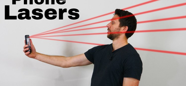 Unlocking The Hidden Lasers on Your Phone To Make 3D Images