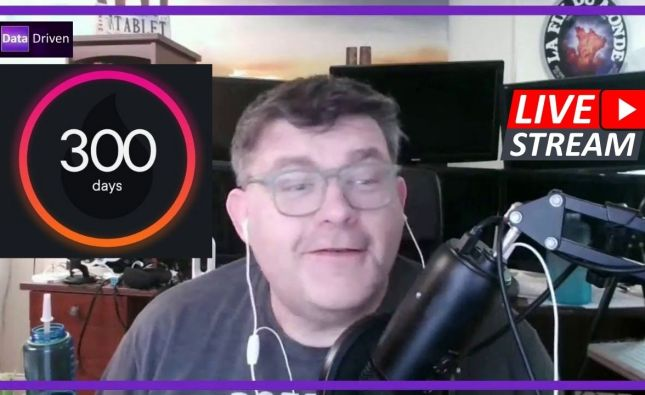 New Video Upload : 300 Consecutive Days of Pluralsight!