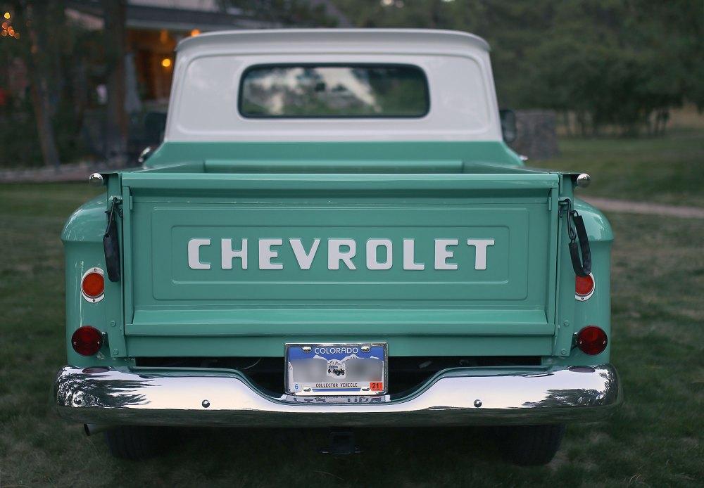medium resolution of 1965 chevrolet c10 stepside pickup truck restoration