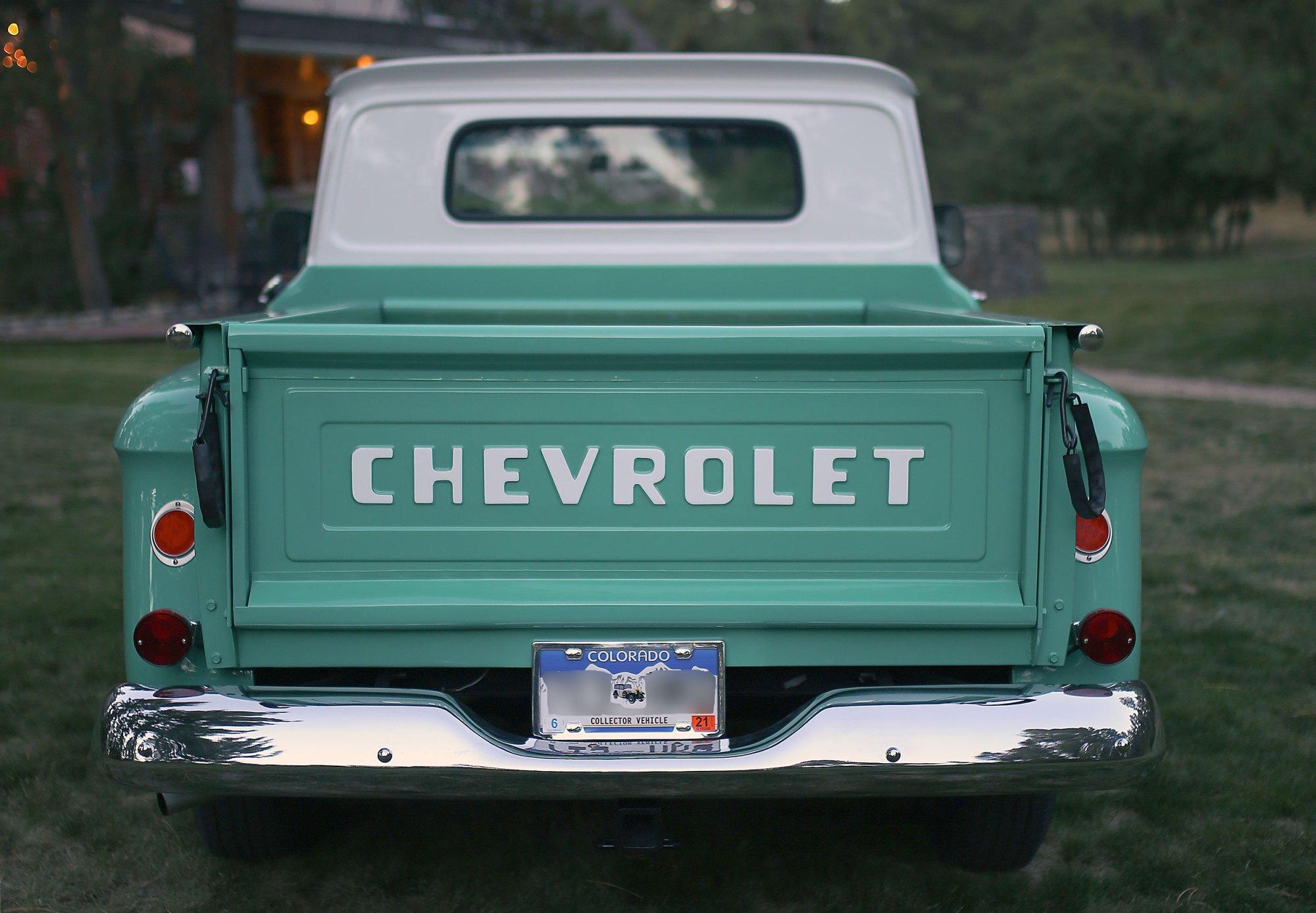 hight resolution of 1965 chevrolet c10 stepside pickup truck restoration