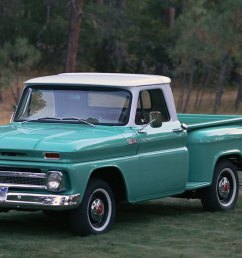 1965 chevrolet c10 stepside pickup truck restoration franktown collision and restoration garage [ 1300 x 650 Pixel ]