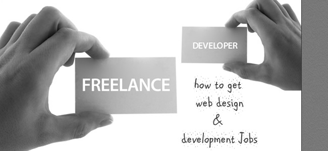how to get web design & development projects
