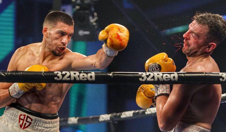 Paul Kean finds out first-hand, the power that prospect, Hamzah Sheeraz carries | Sheeraz vs Gurria