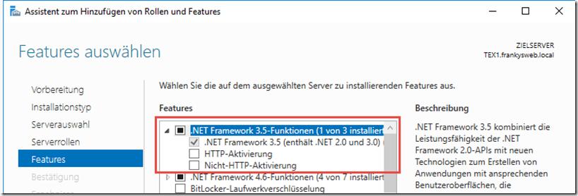 .NET Framework Feature
