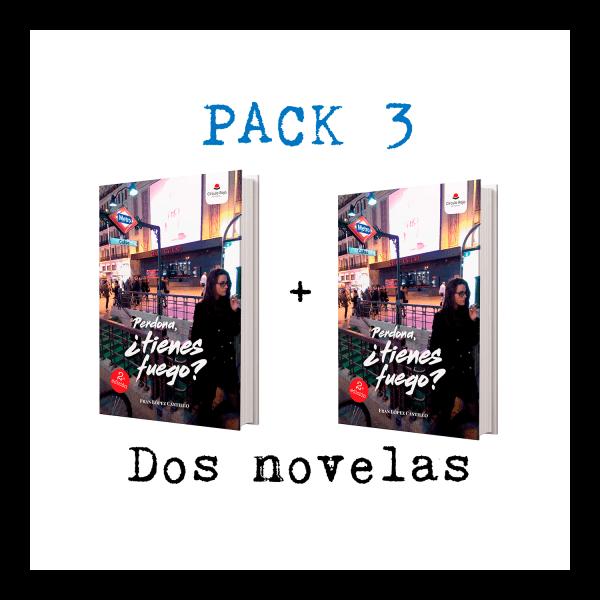 Pack 3: Perdona, ¿tienes fuego? - Fran López Castillo