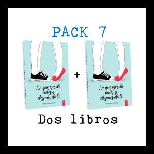 """Pack 7: Dos ejemplares de """"Lo que escribí antes y después de ti"""""""