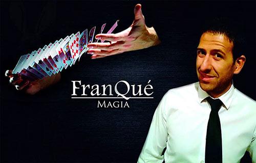 Imagen promocional del mago Fran Qué.