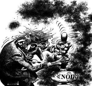Autoportrait Franquin - Les Idées Noires