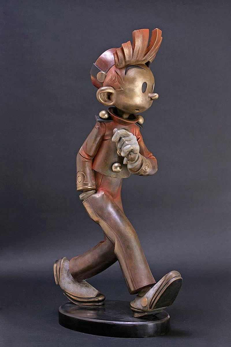 Spirou Bronze Boulesteix Franquin