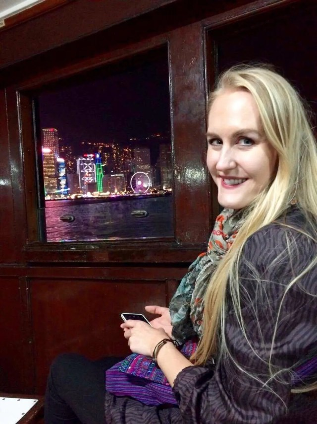 View from the Star Ferry Hong Kong