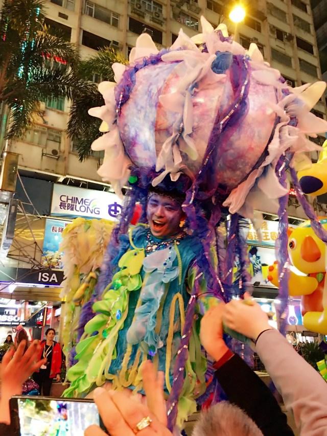 Hong Kong Chinese New Year parade