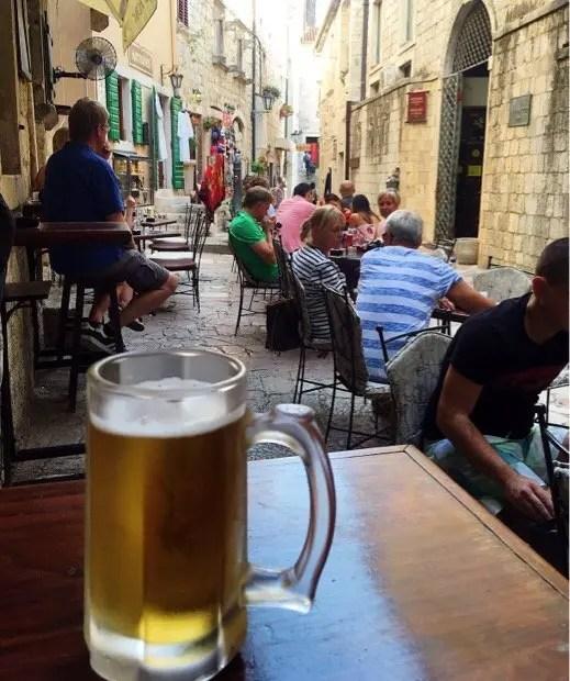 Nikšićko a popular Montenegro beer