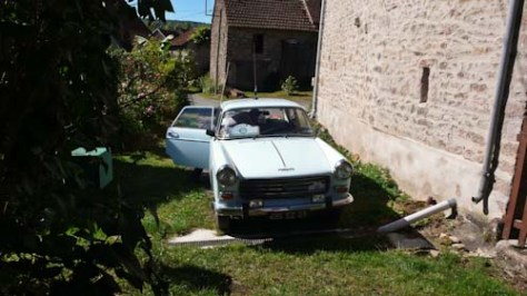 Peugeot van de secretaris van de club