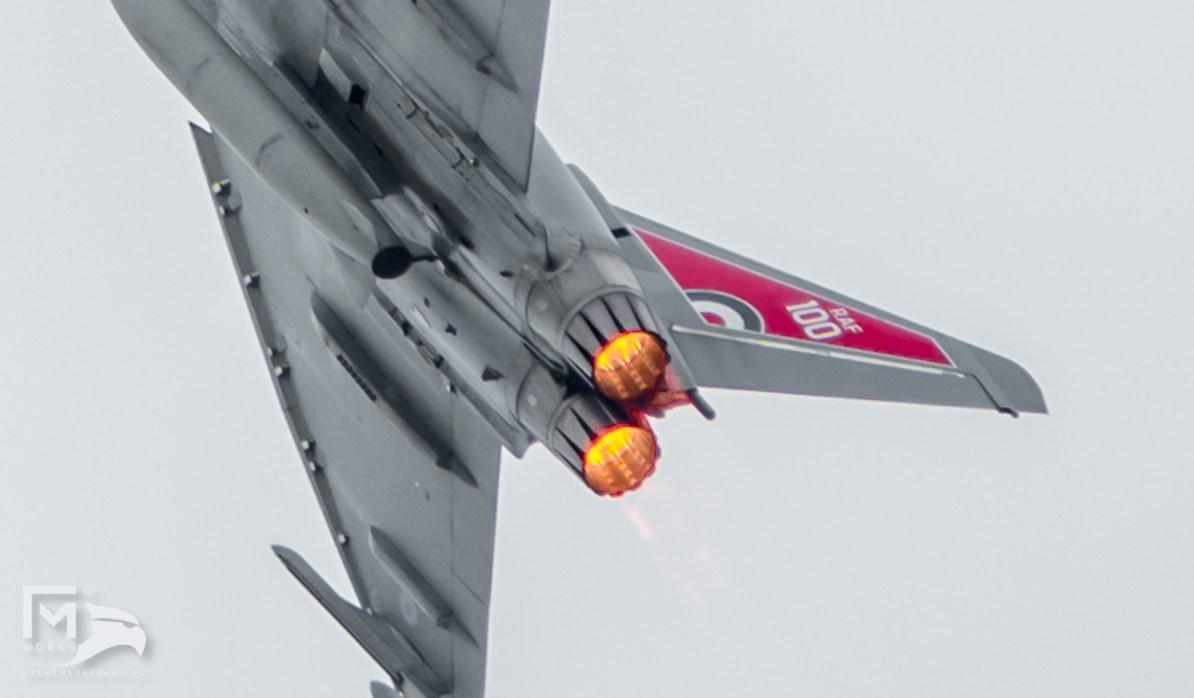 RAF ZK318 Eurofighter Typhoon FGR.4 Airshow Legend