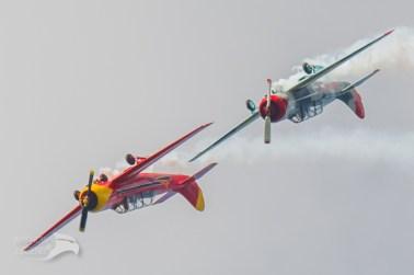DUTCH THUNDER YAKS Airshow Legend