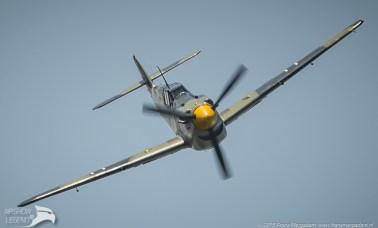Hispano Aviación HA-1112 Buchon G-AWHK Airshow Legend