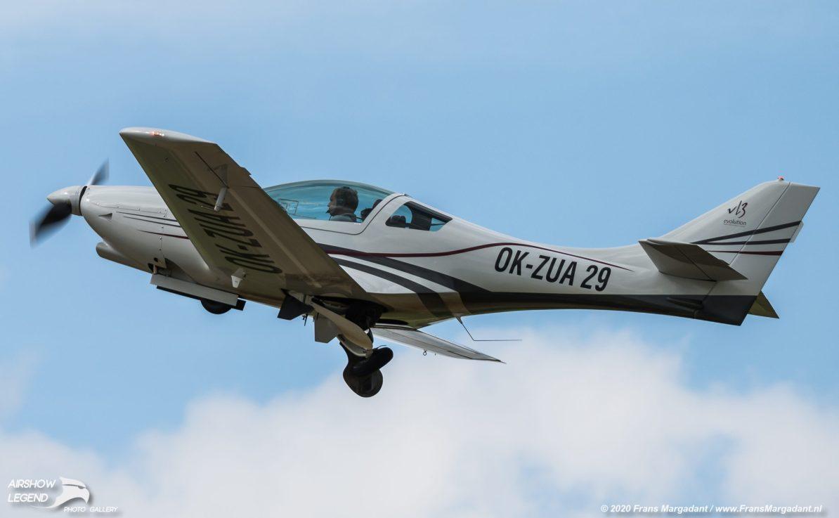 OK-ZUA TL Ultralight TL-2000 Sting S4 Airshow Legend