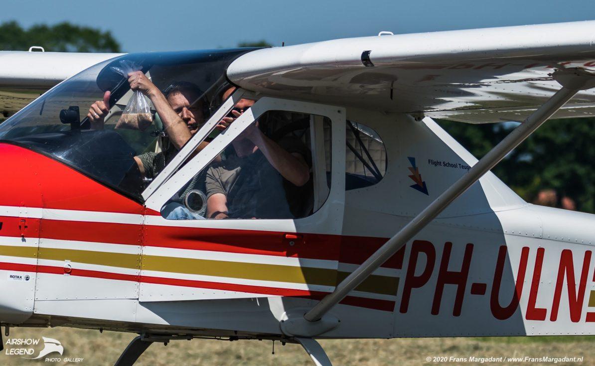 PH-ULN Tecnam P-92 Echo J Airshow Legend