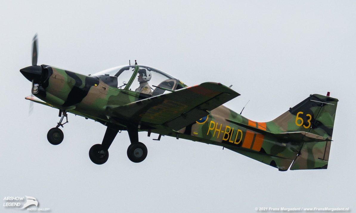 PH-BLD Scottish Aviation Bulldog Series 101 Airshow Legend