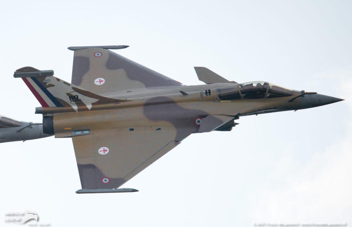 FAF Vautour Bravo Rafale Airshow Legend