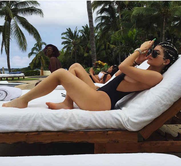 Trip Through Kylie Jenner's Bikini Collections