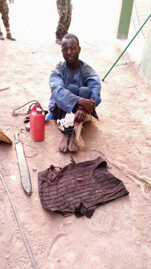 Herdsman with Bullet-proof Vest Arrested In Benue State By the Nigerian Army