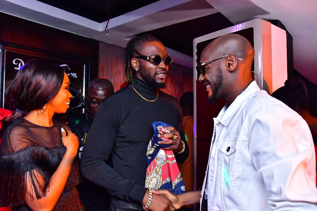 #BBNaija Photos: 2baba Celebrates with BamTeddy