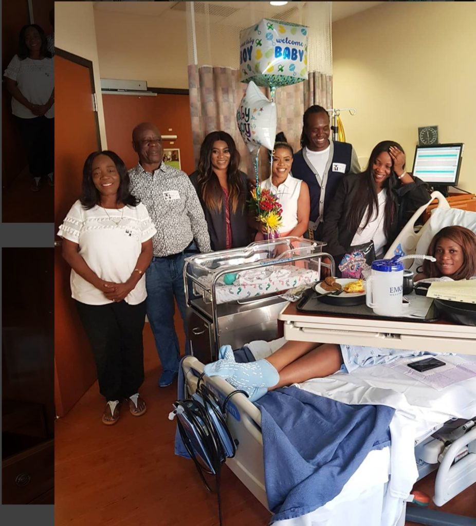 BABY J: Popular blogger, Linda Ikeji, welcomes her son [Photos]