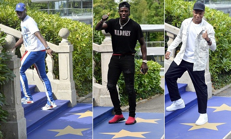 See how France's World Cup winners  Pogba, Kante, Mbappe, Giroud and others showed up for training (Photos)