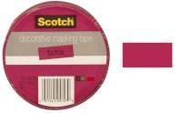 "3M Scotch - Decorative Masking Tape - 1"" x 20 yards - Dark ..."