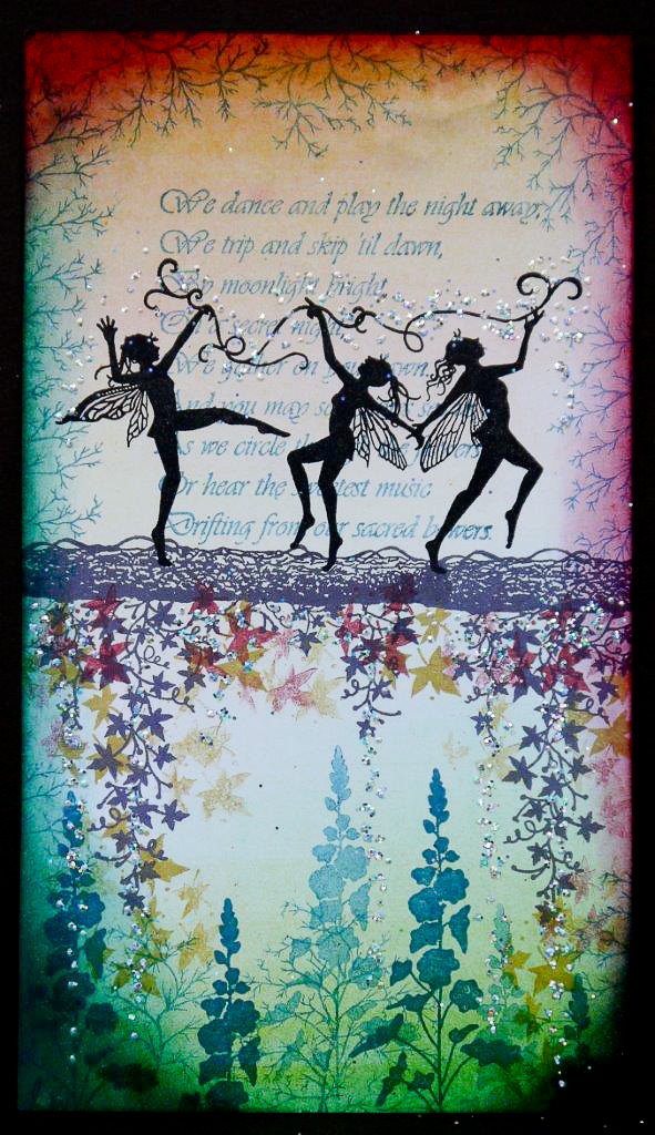 Lavinia Stamps Clear Stamp Dancing Til Dawn Fairies