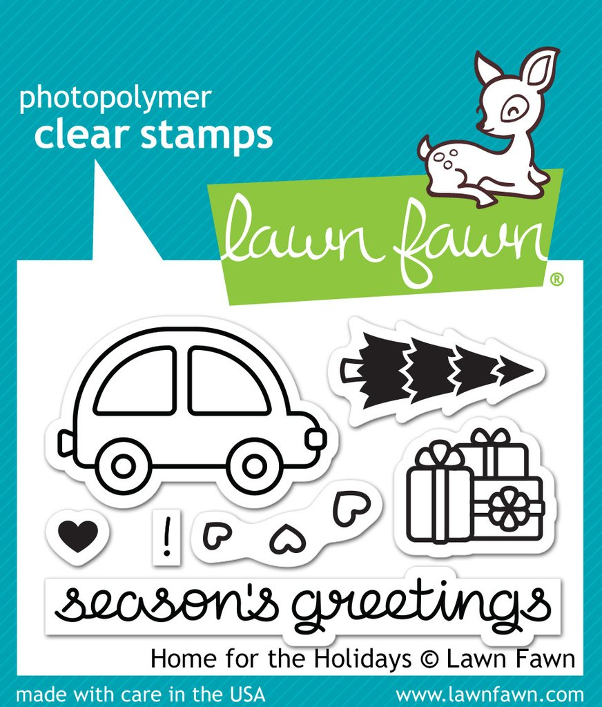 Lawn Fawn Clear Stamps Home For The Holidays