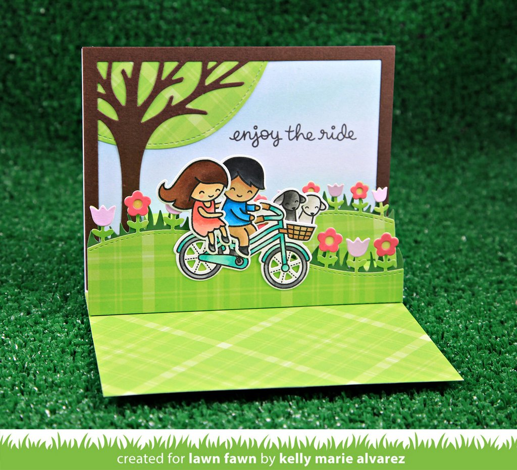 Lawn Fawn Die Bicycle Built For You