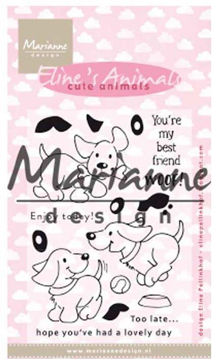 marianne design clear stamp