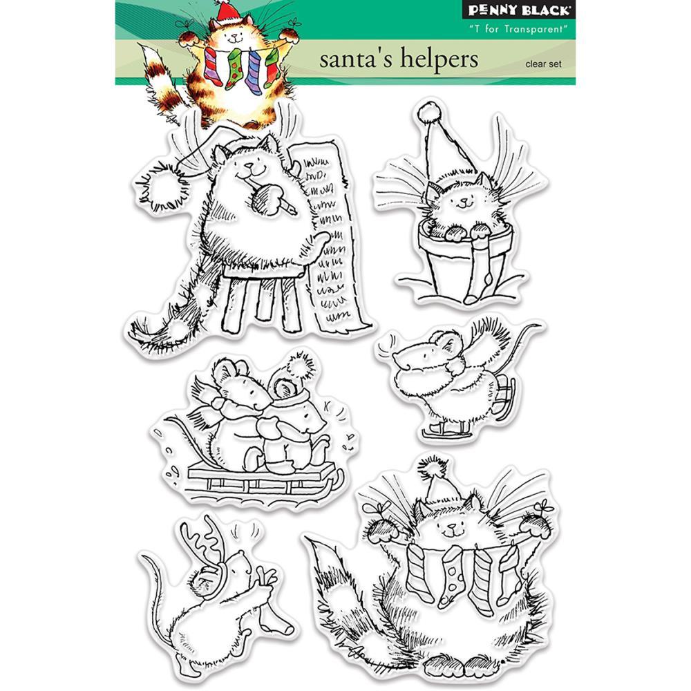 Penny Black Clear Stamp Santas Helpers