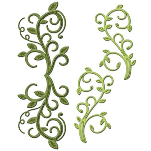 Spellbinders Shapeabilities Dies Foliage Flourish
