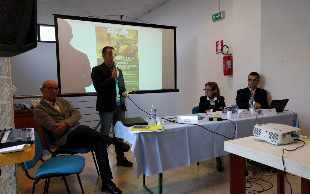 I video del seminario su produzione e degustazione di olio extra vergine