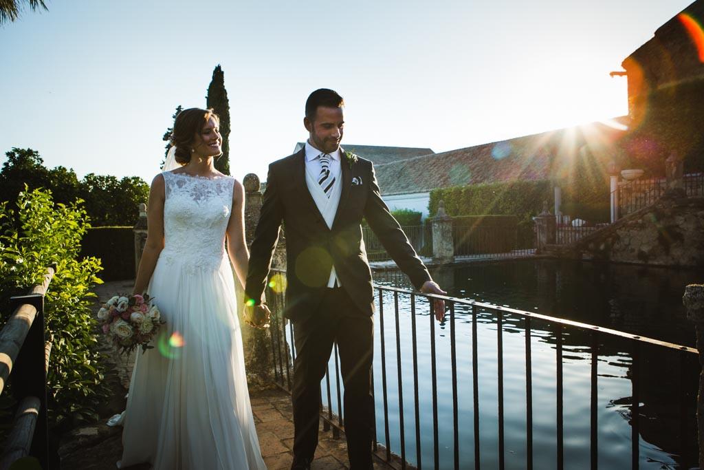 Boda Alcazar y La Bodega, fotos de pareja