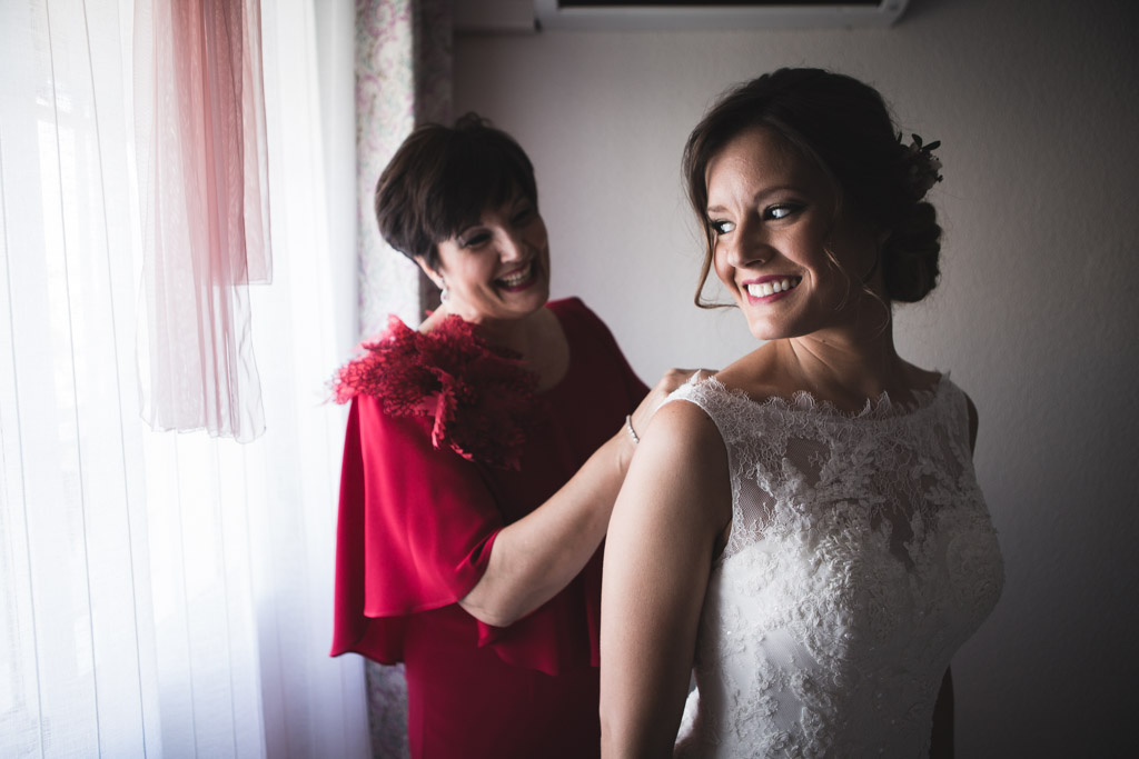 Boda Alcazar y La Bodega, preparativos de la novia