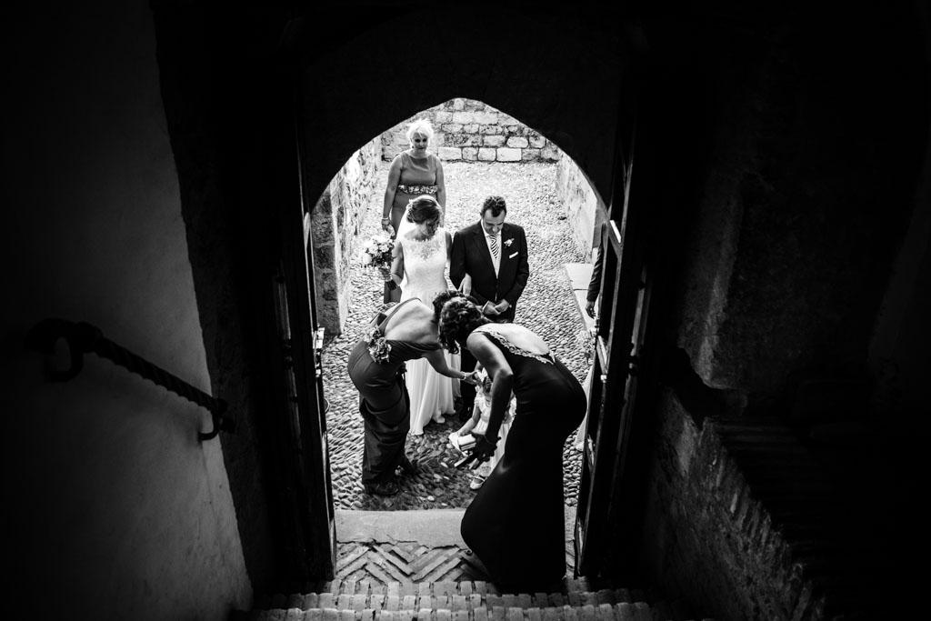 Espacios elegidos por el fotógrafo el día de la boda