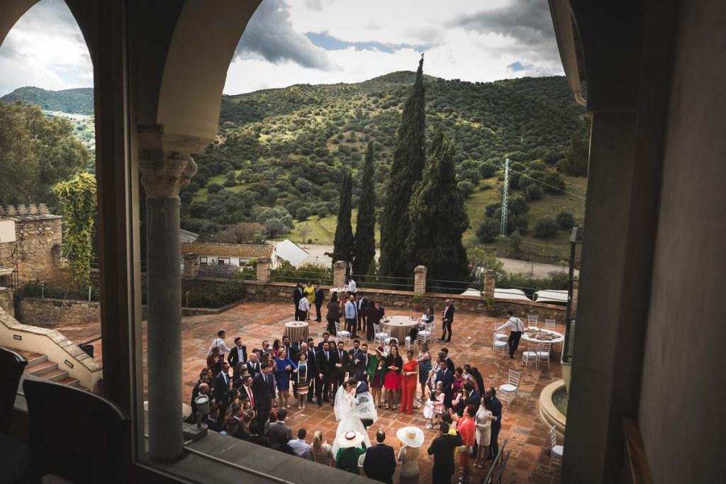 Castillo Albaidia Córdoba, celebración boda