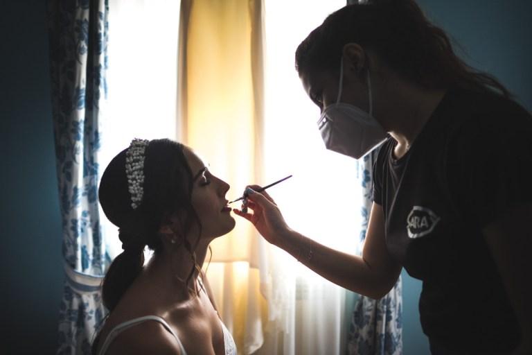 Ideas de maquillaje de boda para el reportaje de fotos