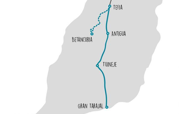 Bikepacking Gran Tarajal - Tefia _ Betancuria
