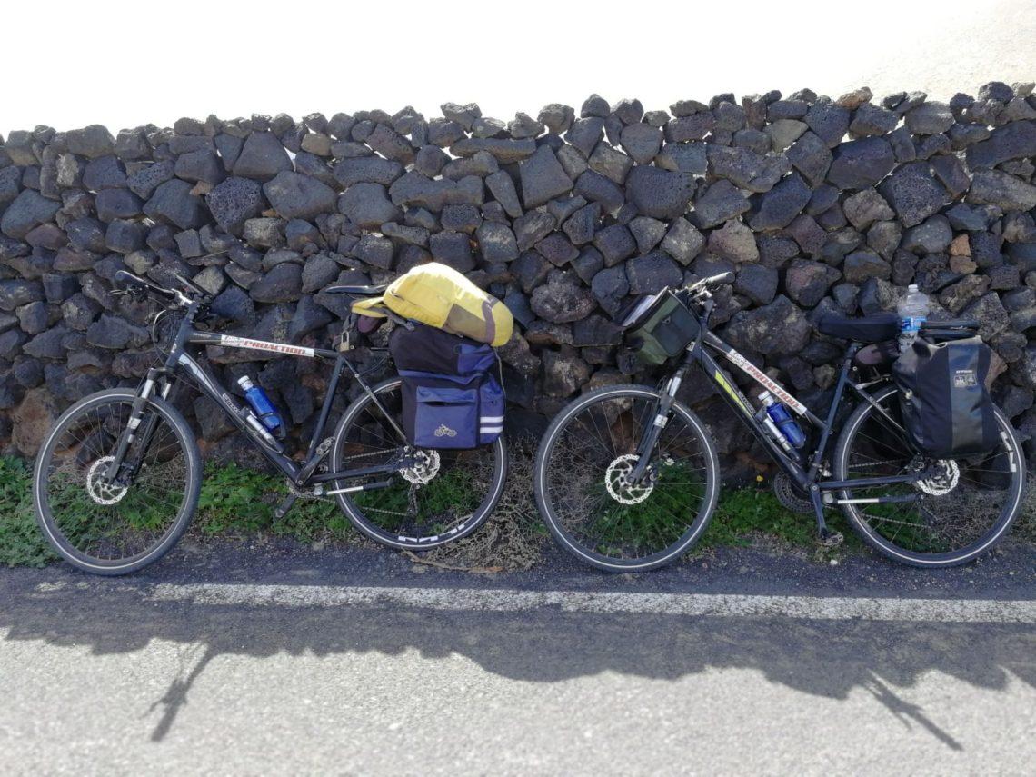 10 Tage Bikepacking auf Lanzarote und Fuerteventura - Route, Entfernungen, Preise und Erfahrungen