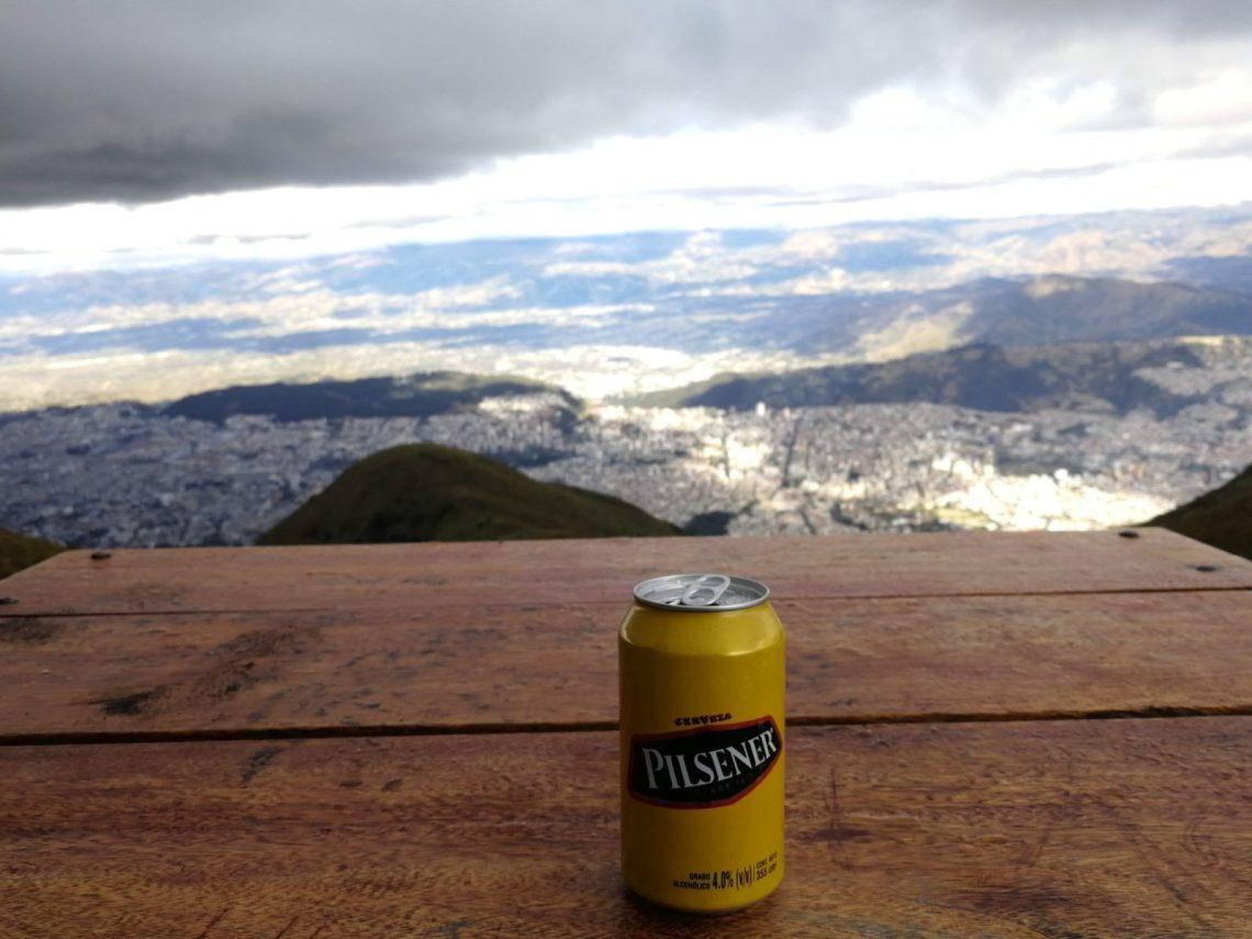 Ankunft in Quito