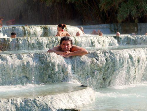 Saturnia in Italien