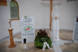 Innenraum der Kapelle