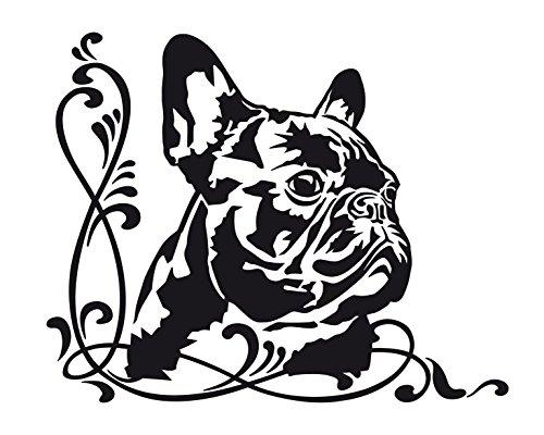 ᐅ Autoaufkleber französische Bulldoggen › Die Französische