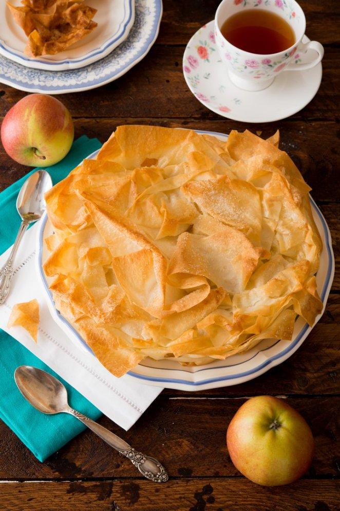 Croustade aux pommes   Rezept  Franzsisch kochen