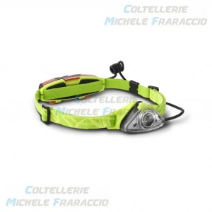 torcia frontale 120 lumens gialla